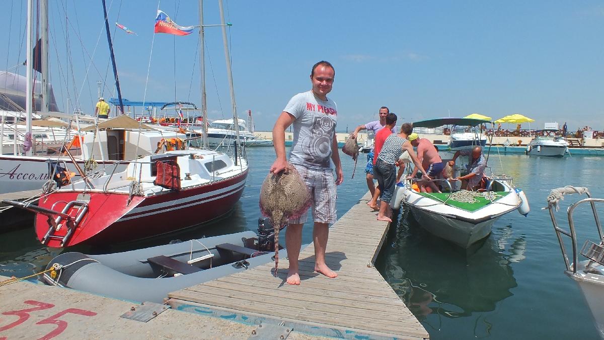 Рыбалка на крупную рыбу в Анапа